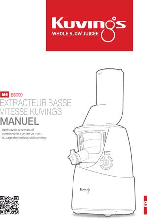 Manuel Kuvings B6000